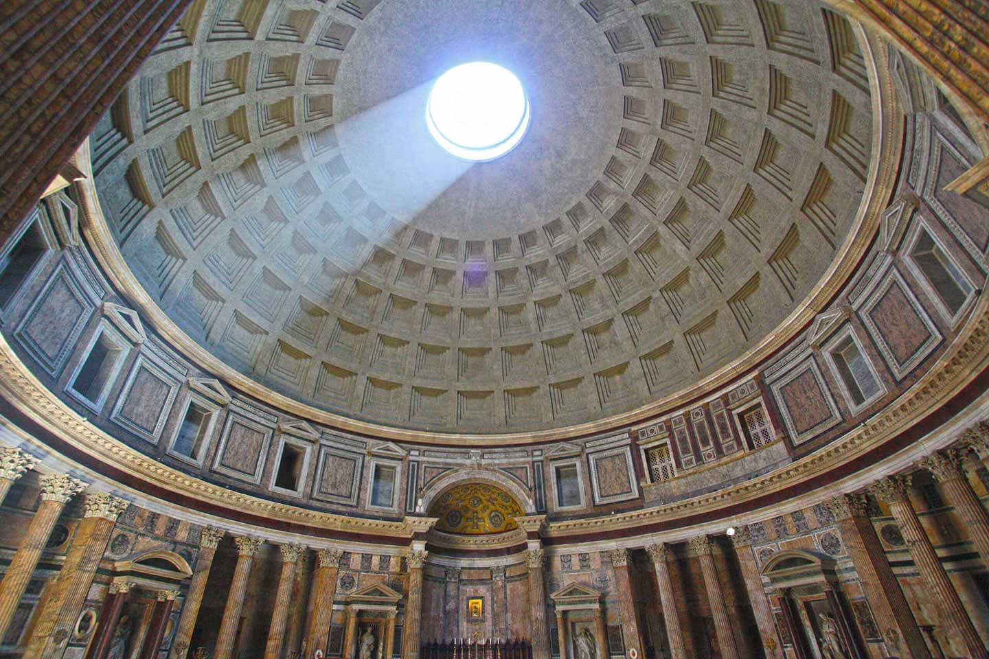 pantheon-rome-dome
