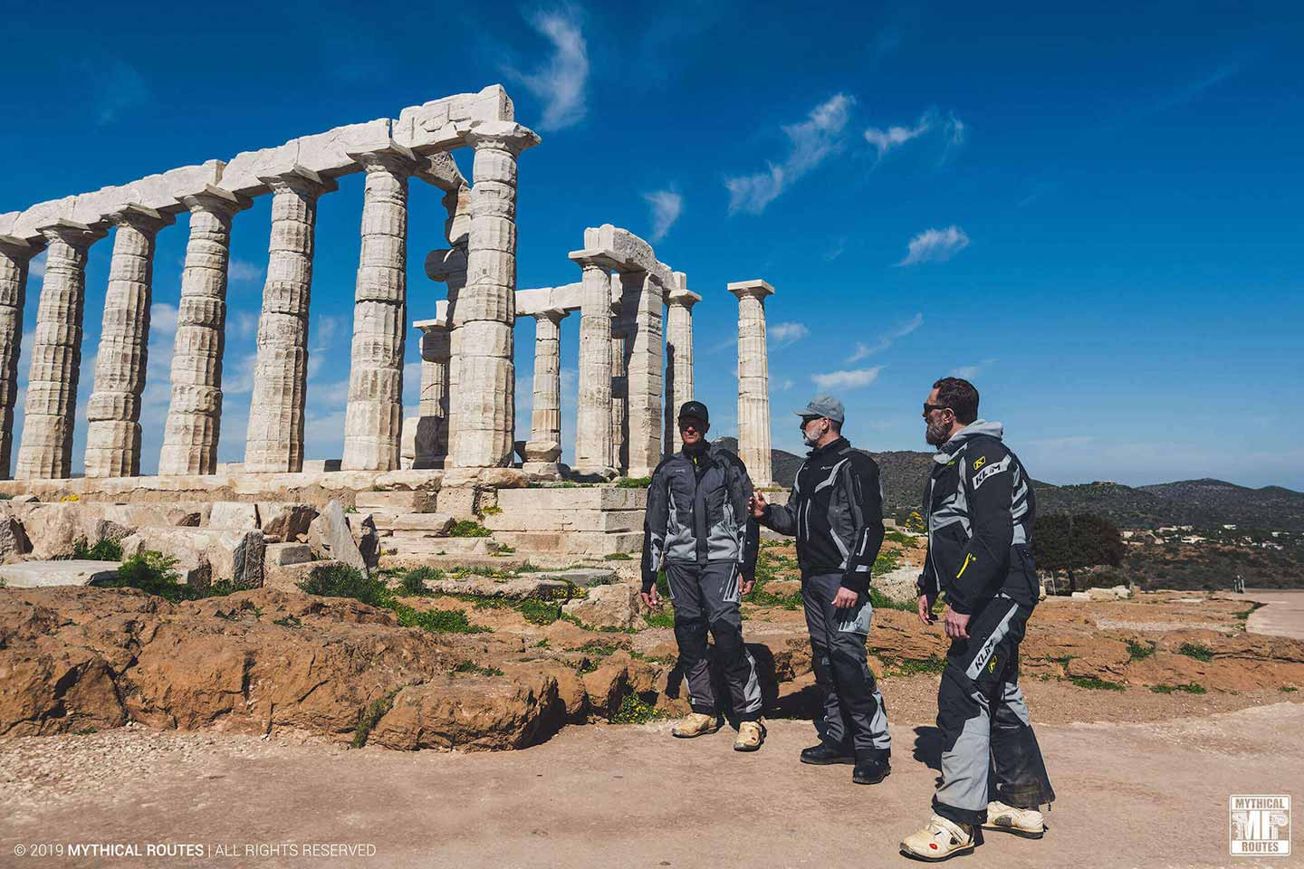 Mythical Routes Riders Sounio